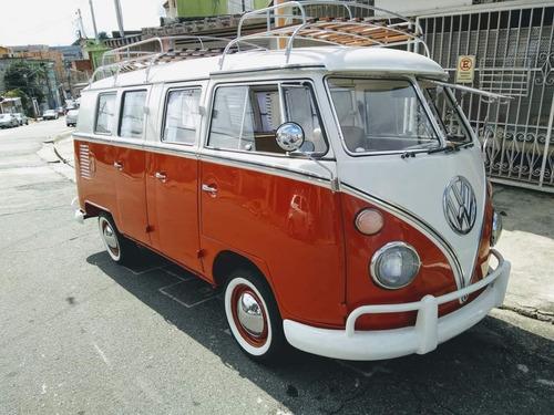 Imagem 1 de 14 de Vw Bus 6 Doors - Kombi 6 Portas Taxi Deluxe 1973