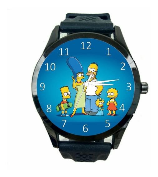 The Simpsons Relogio Personalizado Unissex D Pulso Novo T239