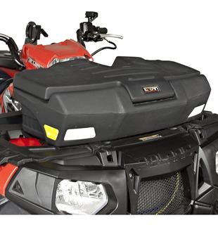 Caja Frontal Para Cuatrimoto Slim, Ultima Pz Ideal Para Motos Pequeñas, Super Resistente, No Estorba, Contra Agua, Chapa