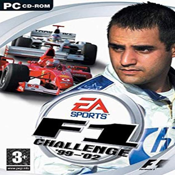 Fórmula 1 F1 99 2002 Para Computador Mídia Digital + Brinde
