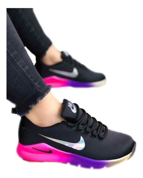 Zapatos Tenis Deportivos Nike Doble Chulo Unisex