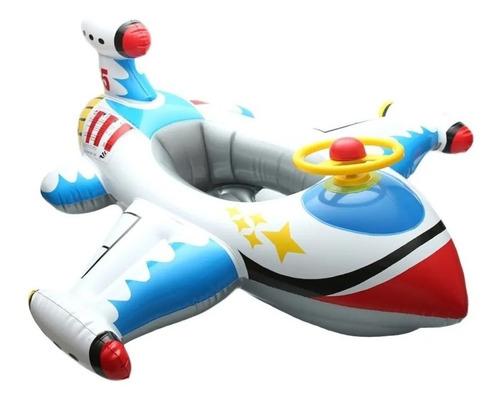 Imagen 1 de 6 de Flotador Inflable Bebe Lancha Alberca Piscina Protección
