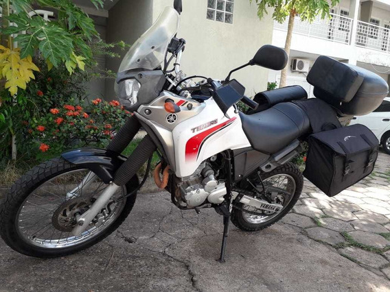 Vendo/troco Yamaha Tenere 250 Cc Com Acessórios Para Viagem