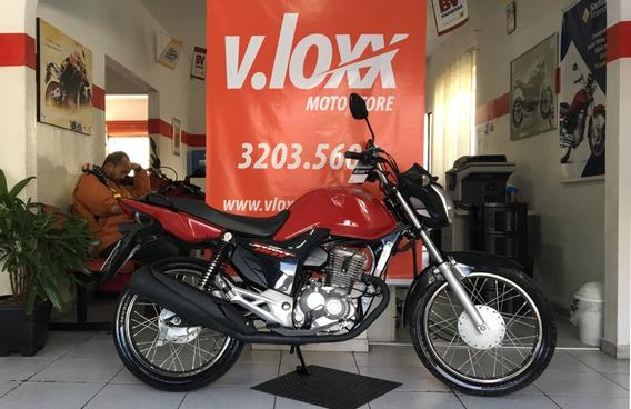 Honda Cg 160 Start Vermelha 2018