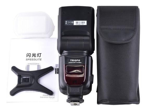 Flash Triopo Tr-586ex Tr586ex Ttl P/ Camera Nikon E Canon