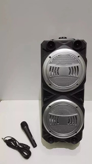 Parlante Speaker Soul Tower Xl250 + Micrófono Karaoke