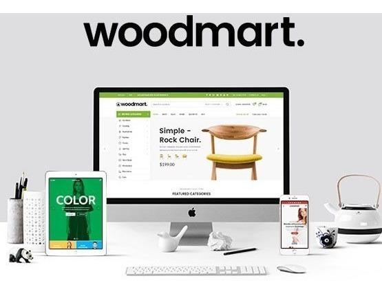 Woodmart Responsive Woocommerce Wordpress Br - V3.6.1
