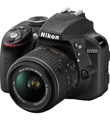 Câmera Nikon D3300 Lente 18-55mm + Bolsa