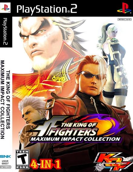 The King Of Fighters Coleção 4 Em 1 Ps2 Desbloqueado Patch
