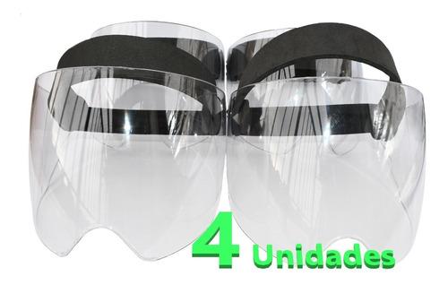 Caretas Fuerte Visor Protección Uv Con Pequeños Defectos X4