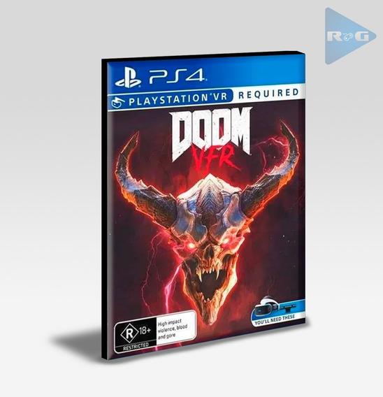 Doom Vr Ps4 - Envio Agora