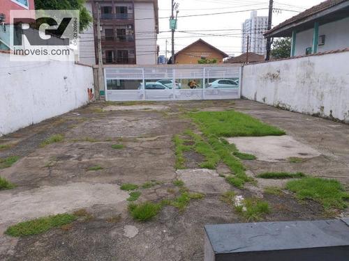 Imagem 1 de 6 de Terreno À Venda, 220 M² Por R$ 550.000,00 - Macuco - Santos/sp - Te0086