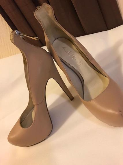 Zapato De Mujer Aldo Originales Usadas Nº35