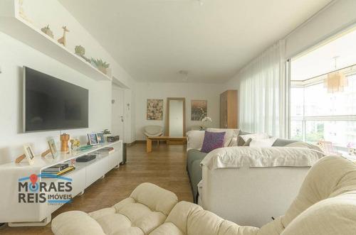 Apartamento, 169 M² - Venda Por R$ 2.080.000,00 Ou Aluguel Por R$ 7.000,00/mês - Brooklin Paulista - São Paulo/sp - Ap16111