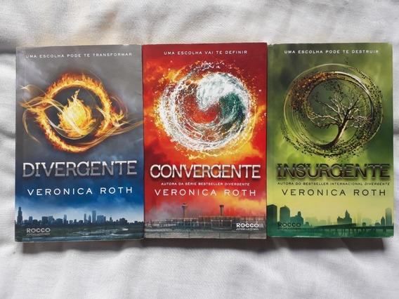 Trilogia De Livros Divergente