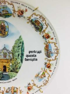 Plato De Porcelana De Bavaria Representa A Sicilia
