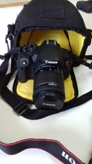 Câmera T5i Canon + Case Promoção Imperdível