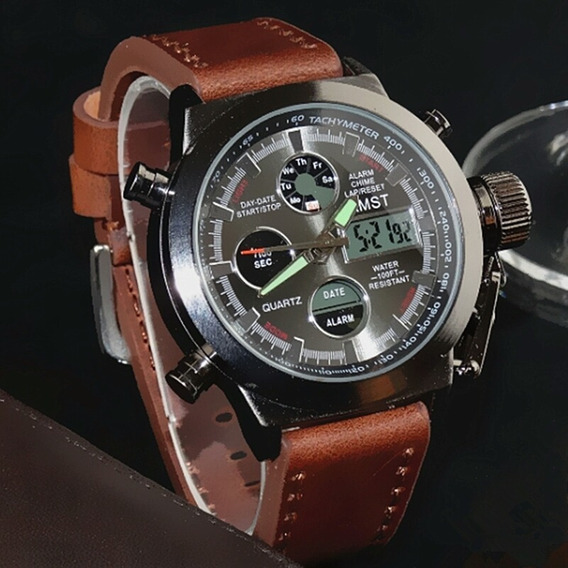 Reloj Militar Amst Original Importado En Caja No Imitación