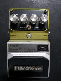 Pedal Tube Overdrive Digitech Cm 2 Over Drive Hardwire Tube