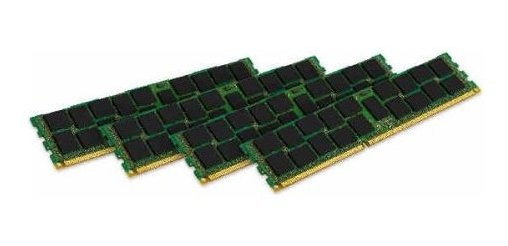Memoria Ram 32gb Kingston Technology Valueram Kit (4x8gb Modules) 1600mhz Ddr3 Pc3-12800 Ecc Reg Cl11 Dimm Dr X4 Server