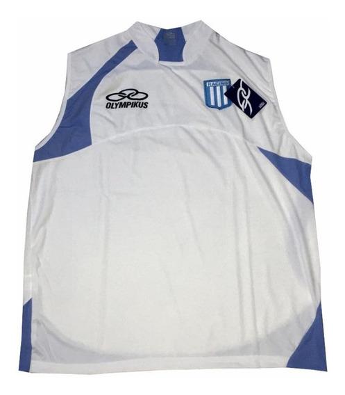 Musculosa Sudadera Blanca Racing Club Olympikus Nuevas