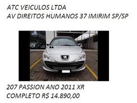 Peugeot 207 Passion 1.4 Xr 10 Anos Flex 4p 2011 Barato