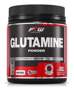 Glutamina Em Pó 300g Ftw Fitoway