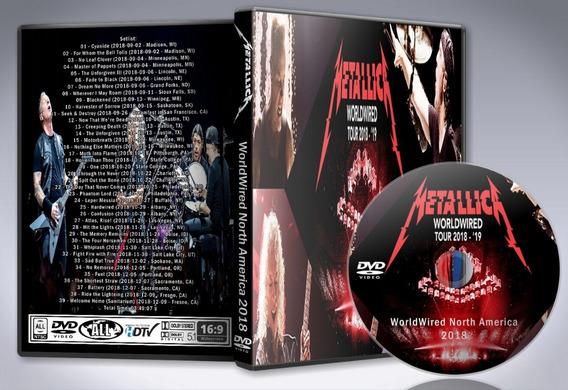 Dvd Metallica - Worldwired North America 2018