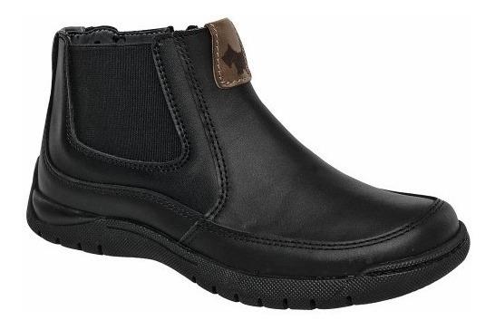 Zapato Escolar Para Niño Piel Casual