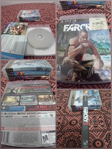 Games Jogos Far Cry 3 Ps3 Play3 La5