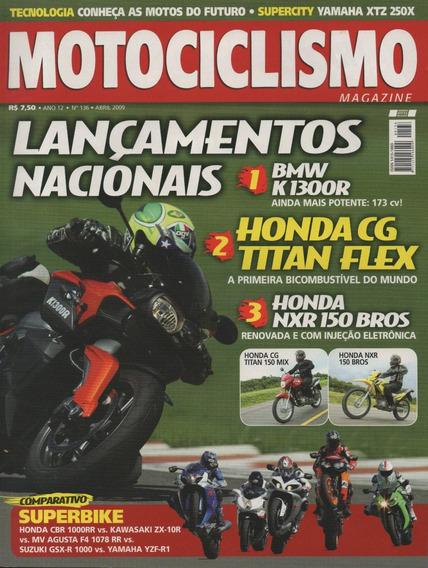 Motociclismo N°136 Bmw F650gs Yamaha Xtz 250x Zx-10r Yzf-r1