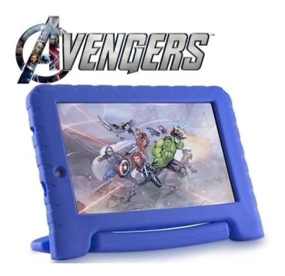 Tablet Infantil Vingadores Marvel Capa Emborrachada Nb280