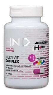 Multi Vitaminas Mulheres 60 Cápsulas Hnd Hinode Suplemento