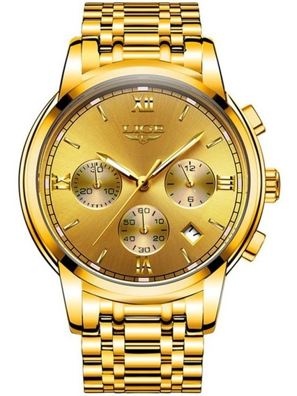 Relógio Lige Masculino Original Lg9817 Barato Todo Funcional
