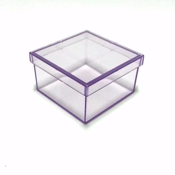 Caixinha Em Acrílico 7x7 (100 Unid) Lembrancinhas