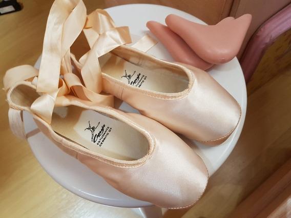 Sapatilha De Ballet Capezio 7 7/2 Estudante Cerrito 07