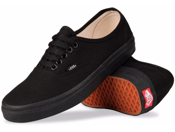 Tenis Vans Negro 100 Original Authentic