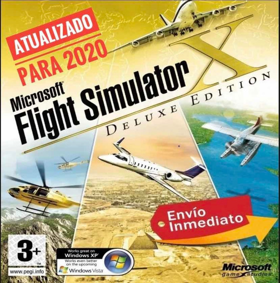 Flight Simulator Fsx 2019 + Completo + Aeronaves 2019