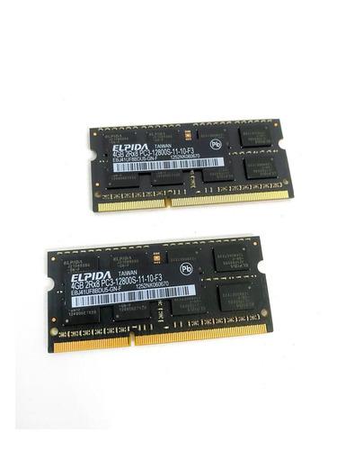 Memoria Ram 8gb Kit (2x4gb) Elpida Originales iMac 21,5