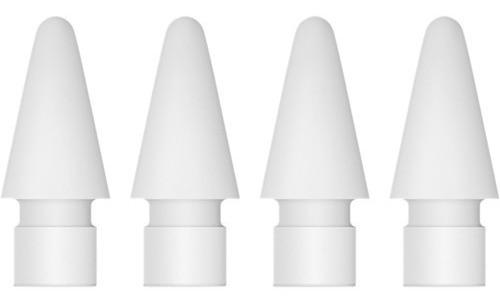 Imagen 1 de 2 de Puntas Originales Apple Pencil Generacion 1 Y 2 Pack Por 4