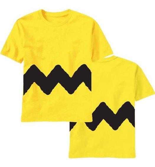 1 Camiseta Charlie Brown Infantil