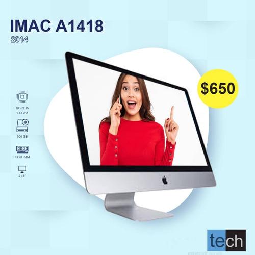 Computadora I Mac A1418 500 Gb 8 Ram 21 Pulgadas Año 2014