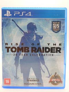 Rise Of The Tomb Raider 20 Year Celebration Ps4 Original