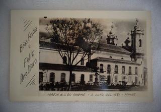 Cartão Postal Igreja N. S Do Carmo S. João Del Rei Minas