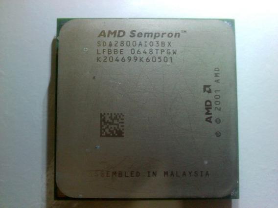 Processador Amd Sempron 1.6ghz/256mb Skt 754. Envio T.brasil