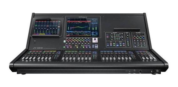 Mesa Som Mixer Roland M-5000 Digital 128 Canais Com Display