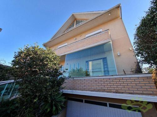 Imagem 1 de 19 de Sobrado Com 4 Dormitórios À Venda, 268 M² Por R$ 995.000,00 - Rebouças - Curitiba/pr - So0047