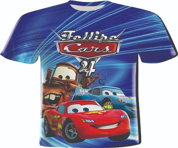 Blusas Infantil - Carro Mc Q. Blue