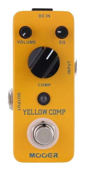 Pedal Compressor Mooer Yellow Comp Mcs2 - Pronta Entrega.