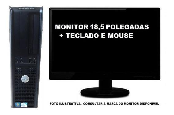 Computador Dell Optiplex 360 Intel 4gb 500gb - Semi Novo